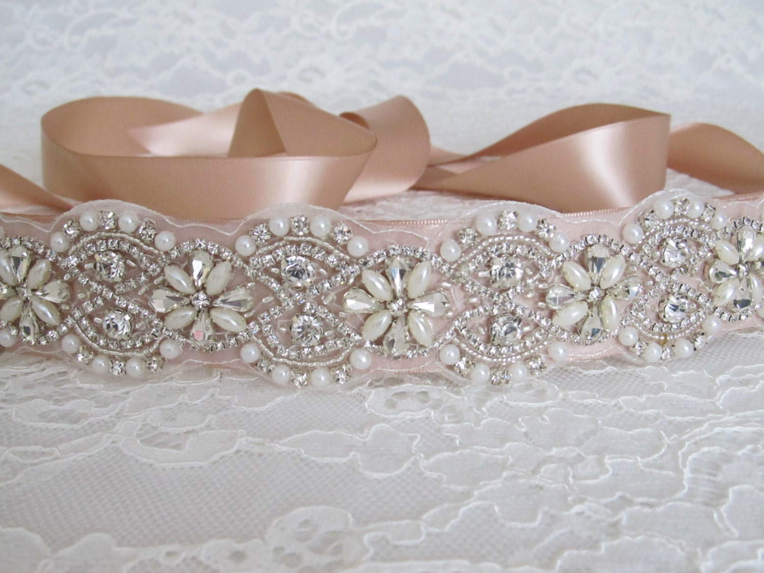 Pearl Crystal Rhinestone Bridal Sash,Bridal sash,Wedding sash,Bridal Accessories,Wedding Accessories,Bridal Belt,Style #3