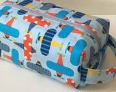 Toiletry Bag / Hygiene Bag / Travel Bag - Airplanes