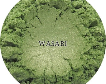 Loose Mineral Eyeshadow-Wasabi