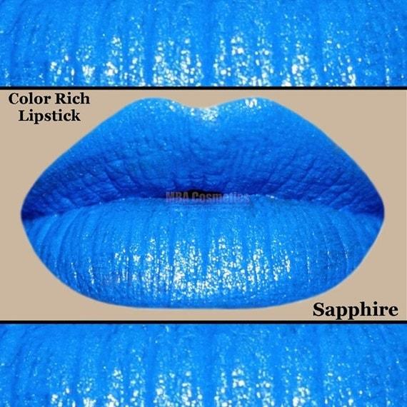 Blue Lipstick- Color Rich Lipstick-Sapphire