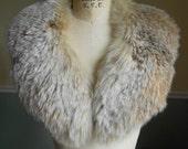 Fox Fur Collar / Multi Brown Fox Collar