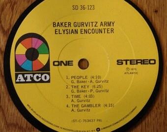 Baker Gurvitz Army Coaster