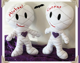 Mummy doll plushie