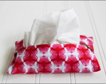 Pink Bugs Tissue Cozy