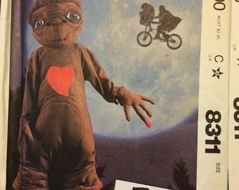 McCalls 8311 E.T. Costume Pattern