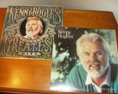 Kenny Rogers 20 Greatest Hits New Unopened and Love is what you make it Vinyl Albums Lot of 2