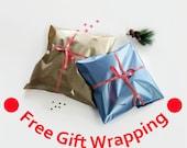 Free Gift Wrapping, Christmas Gift Wrap, Handmade