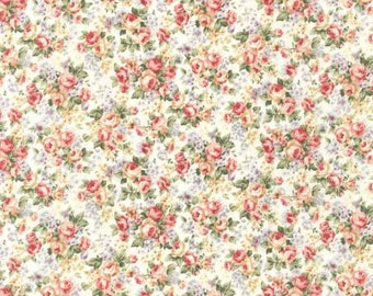 Emma 2 Collection   by From Robert Kaufman Blush Small Floral SRK672196