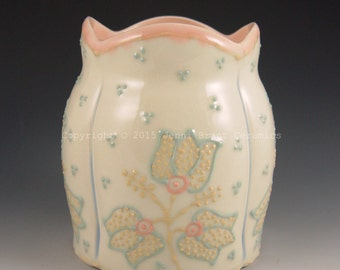 Vase with Floral Bouquets