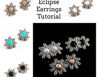 PDF Celtic Eclipse Earrings Tutorial