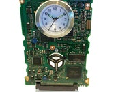 "Circuit Board Alarm Clock, our ""Mercedes of Circuit Board Clocks."" Got Geek Gift? FREE SHIPPING USA!"