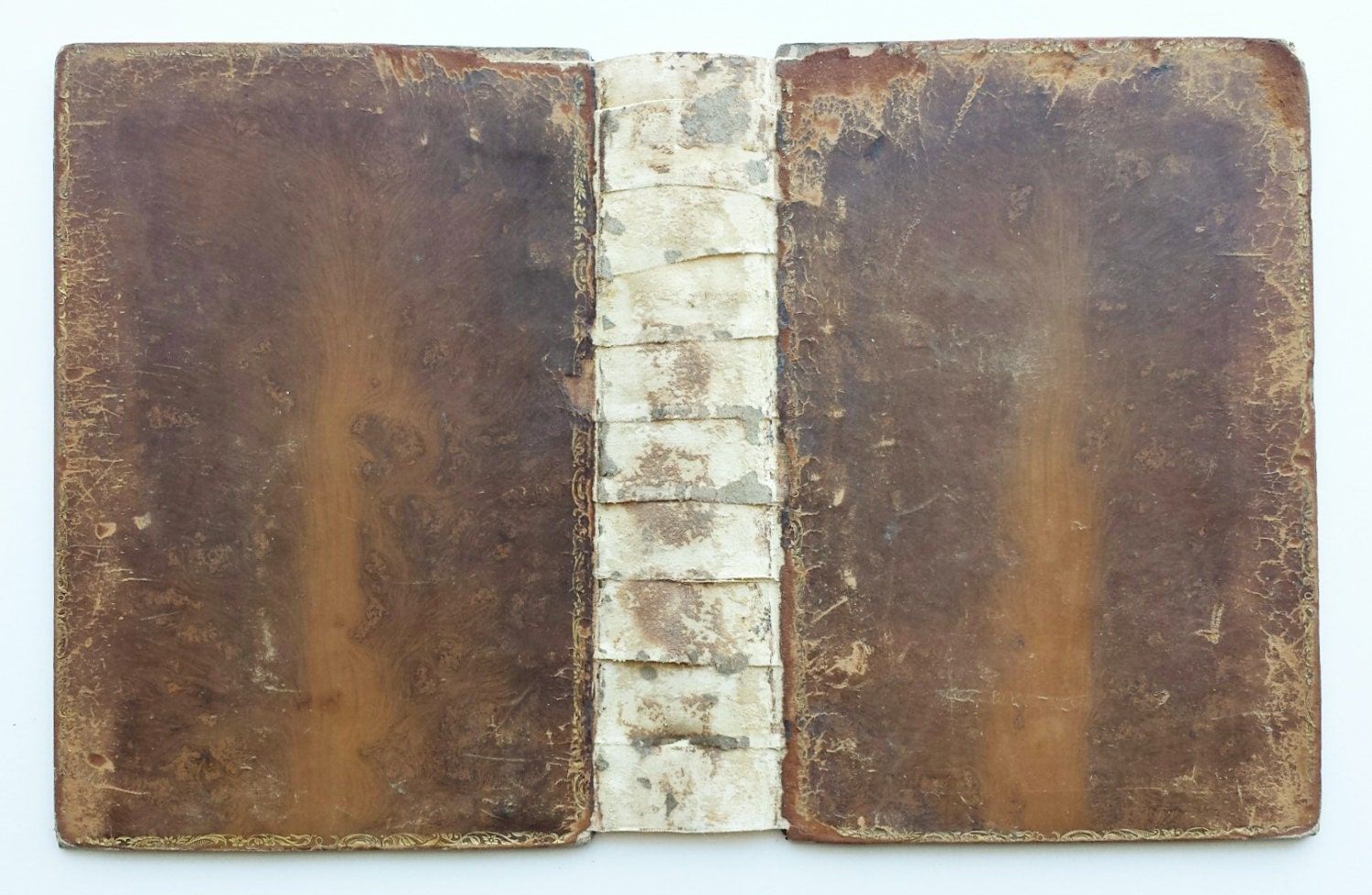 Vintage Leather Book Cover : Antique leather book covers s