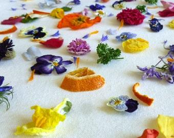 Dried Petal Confetti, Dry Flowers, Petal Confetti, Wedding Confetti, Dried Flowers, Decorations, Tossing Mix, Flower Girl, Basket, 4 US cups