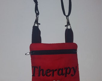 Dog Treat Bag Pouch Crossbody strap