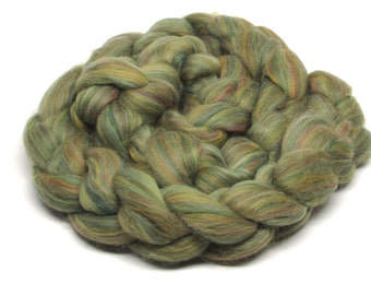 Merino Wool Roving  Sage 4 ounces