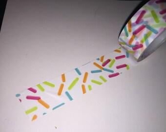 """Sprinkles washi tape sample 18"""""""