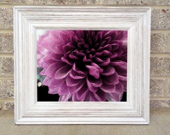 "Purple Flower 8x10"" Photo Print"