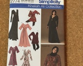 Simplicity 2274 Size BB 20W-28W Sewing Pattern  Top Tunic  Dress Uncut Combined Shipping