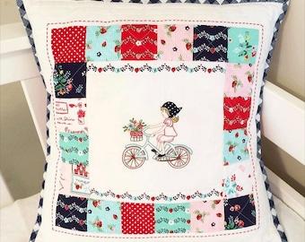 To Market Embroidery Pattern - PDF - Tasha Noel