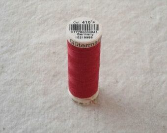 Red Gutermann Sew-All Polyester Sewing Thread