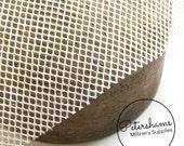 Paris Net / Dior Net (1/2 yard) Millinery Blocking Fabric for Fascinators & Hat Making - White