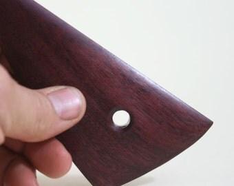 Pottery Tool, Purple Heart Wood Rib, Bowl Rib