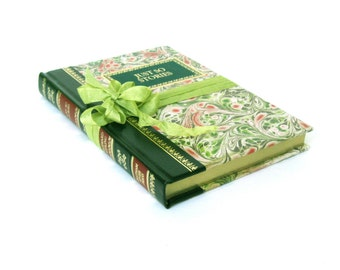 JUST So Stories by Rudyard Kipling, Chatham River Press, Vintage Childrens Book, Rose and Green Book Decor