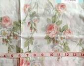 Vintage White Rose Pillowcase