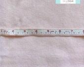 LAST 3/4 YARD, Light Pink Ribbed Knit Fabric, 3/4 yard