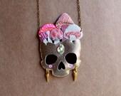 Mushroom Skull Necklace No. 1