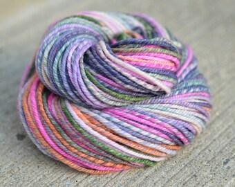 Bus Pants - superwash merino n-ply/chain-ply handspun yarn - bulky weight, 104 yards