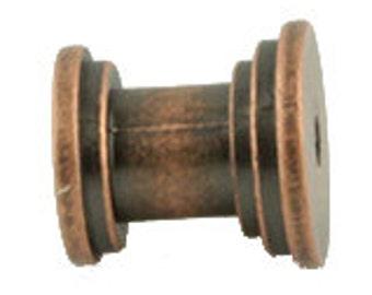 Set of 24 DIY Knob Bases Antique Copper Make your Own Drawer Pulls