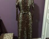 Glamorous Vintage leopard jumpsuit pantsuit