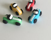 Car cupcake toppers, fond...