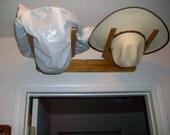 Custom for Tasha   Horizontal Hat Rack