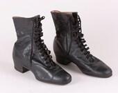 Women's Antique Leather Boots