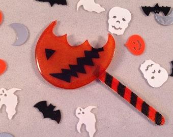 Trick 'r Treat Sam Lollipop Brooch Halloween