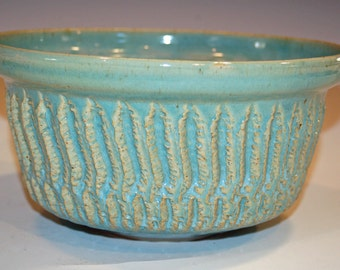 Green Pottery Bowl,  Kitchen and Dining, Hand Thrown, Dining and Serving, Home and Living, Ceramic Bowl, Pottery Bowl, Baking Tools, Bowls