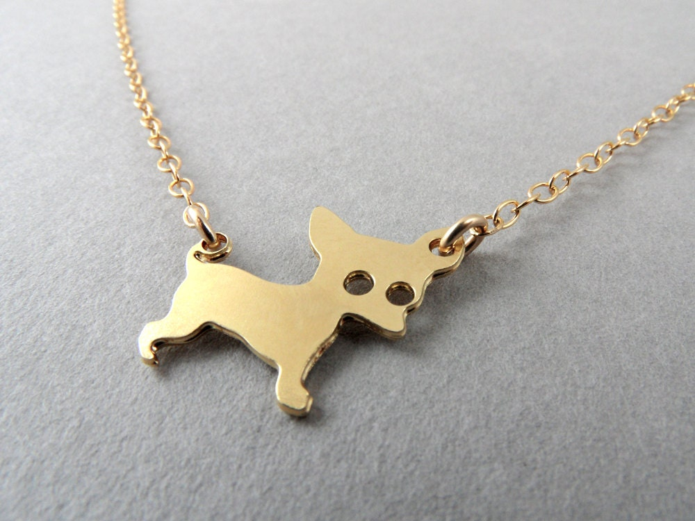 chihuahua necklace necklace charm jewelry