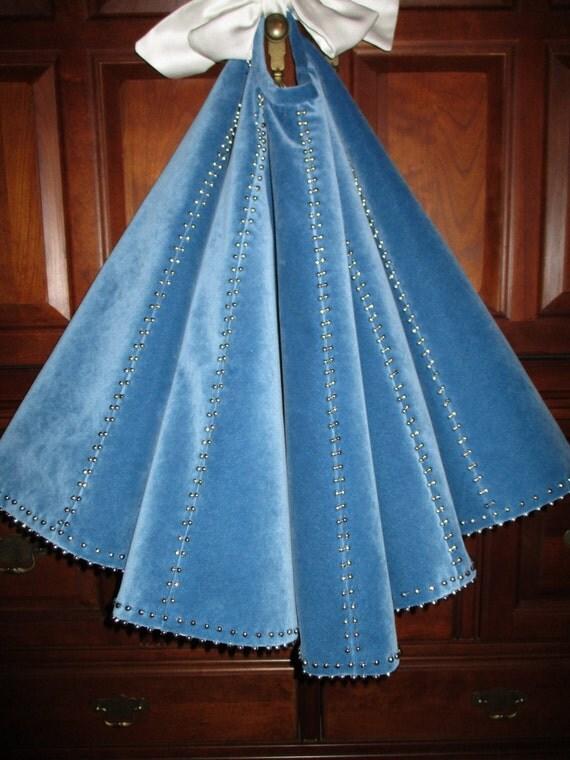 amazing 56 jewelry box blue velvet with luxurious