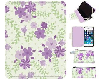 Purple Kindle Fire HD 8 Case, Kindle Fire HD 7 Case, Kindle Fire HD 7 Case, Handmade iPad case Kindle Fire Hd 6 7, Kindle Fire Hdx