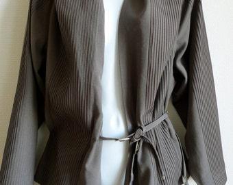 SALE 80s ISSEY MIYAKE kimono style jacket with ties