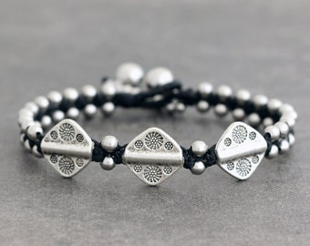 Men Tribal Charm Bracelet