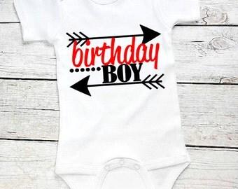 1st Birthday Boy-1st birthday outfit-Cake Smash -1st Birthday boy Outfit-First Birthday Outfit-FIrst birthday Bodysuit- Baby Boy birthday