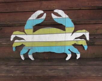 Reclaimed Wood Fish Wall Hanging Custom Made Rustic Lake