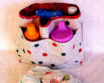 Diaper Bag Insert, Removable Bag Insert, Purse Insert Organizer Handmade, Purse Insert, Baby Bag Organizer Insert, Baby Shower Gift,