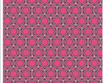 Joel Dewberry Heirloom Fuschia Opal Cotton Fabric