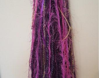 Turbo's Yarn Dread Falls -  Purple Fairy (TYDF-003) Made to Order