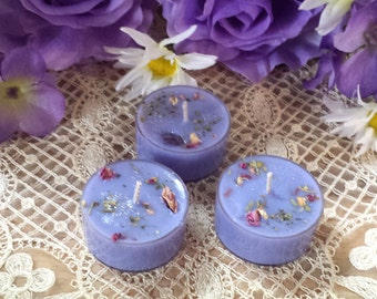 4 Psychic Awareness Soy Tea Lights