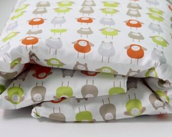 Toddler Bedding Set - Toddler Duvet Cover - Kids Duvet Cover - Sheep Nursery Decor - Baby Crib Bedding- Farm Animals Nursery- Organic Duvet